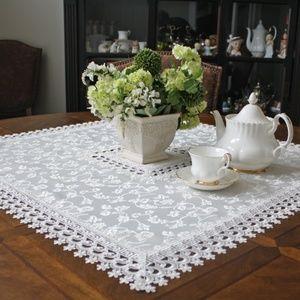 NEW Deco Lace Jacquard Tablecloth, Art Deco style